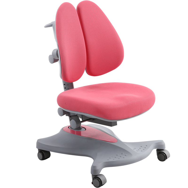 Comfortable Kids Study Chair Multifunction Slide Student Chair Household With Footrest Lifted Children Redress Writing Chair