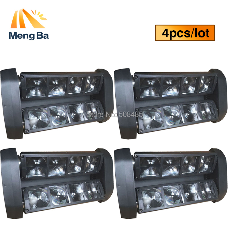 4pcs HOT Sale NEW Moving Head Light Mini LED Spider 8x6W RGBW Beam Light Good Quality Fast Shipping hot sale good quality inductive