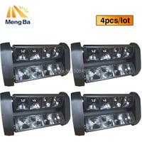 Free Shipping 8 10w LED RGBW CREE Beam Light 8 Eyes Mini Spider Light DMX512 Moving