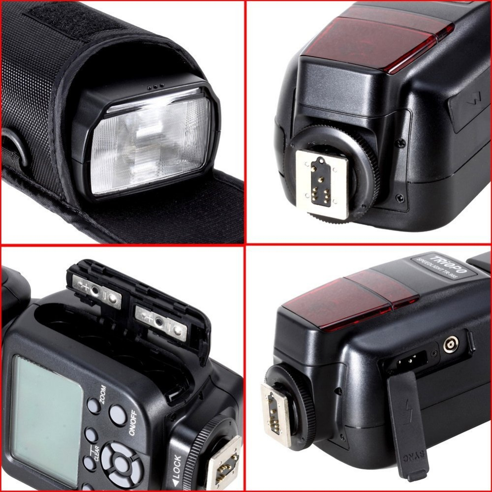 TRIOPO TR 988 Professional Speedlite TTL Flash with High Speed Sync for Canon d5300 Nikon d5300 d200 d3400 d3100 DSLR Cameras in Flashes from Consumer Electronics