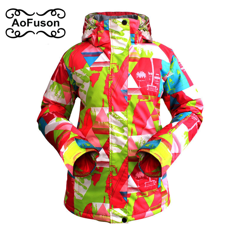 Ski Jacket Women Warm Breathable Outdoor Waterproof Winter Brand Skiing Jacket For Snowboarding Hiking Jackets Ladies Snow Coats dropshipping 2015 rossignol winter snowboarding jacket ski snow jacket women waterproof breathable windproof skiing jackets