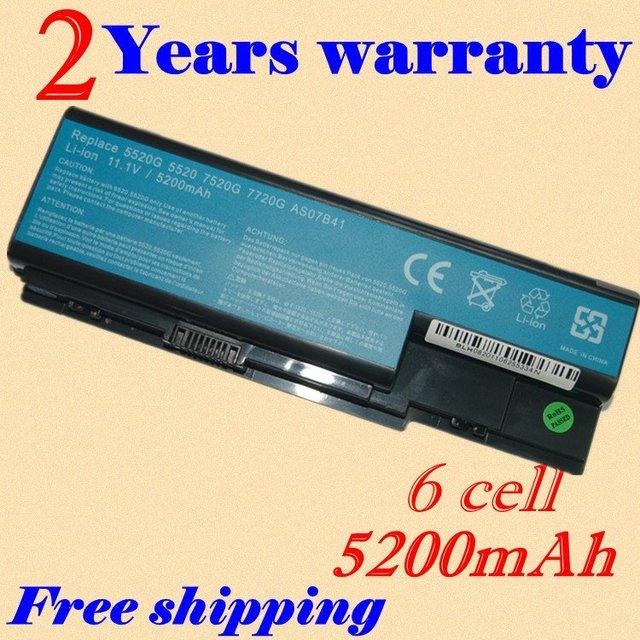 Jigu nueva batería del ordenador portátil para acer aspire 5730z 5730zg 5735 5735z 5739 5910G 5920 5920G 5930 5930G 5935 5940 5940G 5942 5942G