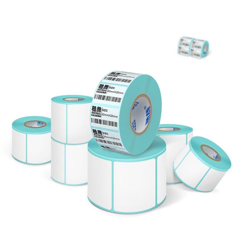 45 ~ 50mm Breit Klebstoff Thermische Aufkleberpapier Label Direkt Druck Wasserdichte Druck Nehmen Kundenauftrag Um Der Bequemlichkeit Des Volkes Zu Entsprechen
