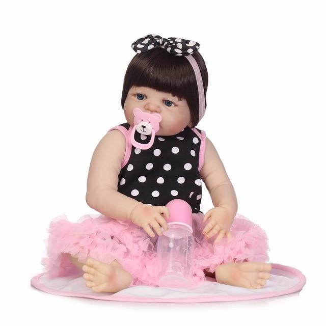 Full Body Silicone Reborn Baby Girl Dolls Reborn Dolls 2