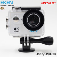 6PCS Ultra HD 4K WiFi Action Camera EKEN H9SE H9 H9R 1080P FULL HD 2 0