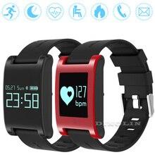 Gzdl DM68 Smart Band Водонепроницаемый Браслет фитнес-трекер крови Давление монитор сердечного ритма браслет для IOS Android WT8123