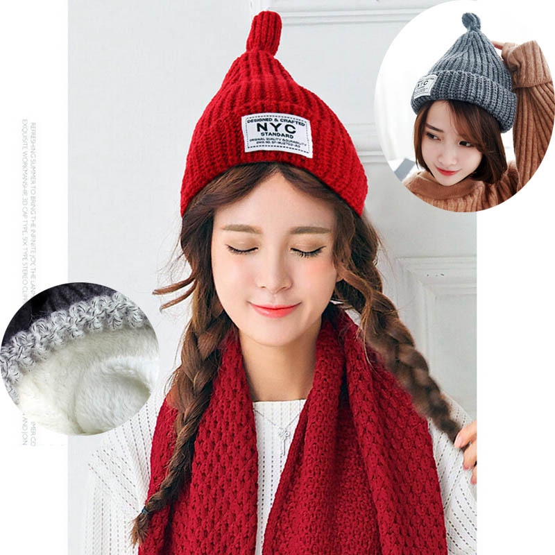 Winter Brand New Colorful Snow Caps Knitted Beanie Hat With Raccoon Fur For Women Hip Hop Skullies Cap 2016 winter brand new colorful snow caps wool knitted beanie hat for women men hip hop cap skullies