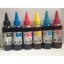PGI-580 CLI-581 Refill Dye Ink For Canon PGI580 PGI 580 CLI 581 PIXMA TS8150 TS8151 TS8152 TS9150 TS9155 Printer Cartridge 6pcs refill ink cartridge pgi 970xl cli 971xl pgi 970 cli 971 for canon pixma mg7790