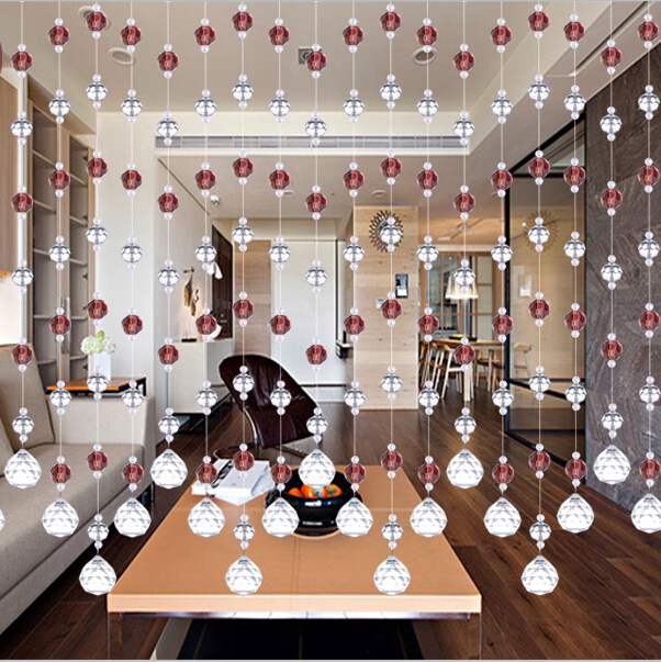 Aliexpress.com : Buy 20 Meter Party Home Decorations Built In Window Bedroom  Door 100% Crystal Glass Beads Rope Curtain Hanging On Screen Beads From ...