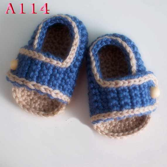 7460a8a9cd4fe Free shipping Crochet Baby Shoes Sizes 0-12 Months,Crochet Baby sandals  Made to Order