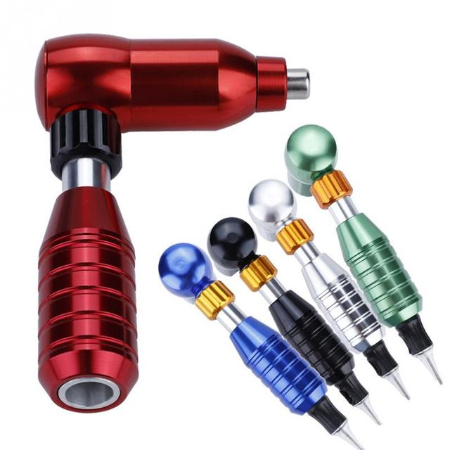 Alloy Rotary Makeup Tattoo Pen Machine Motor Guns Tattoo Studio Gourd Rotary Machine RCA Cord For Tattoo Permanent Makeup