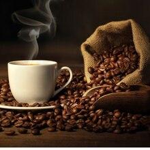 Жареные высококачественные вьетнам зернах выпечки похудеть оригинальный уголь питание кофе похудения