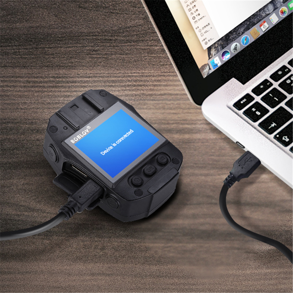 Новая камера BOBLOV 32 GB/64 GB HD 1296 P, камера Novatek 96658, Полицейская безопасность, ИК Ночное Видение, 32 МП, видео, быстрая зарядка, камера - 6