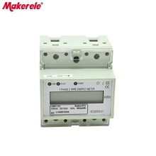 2016 newest product Modbus-RTU MK-LEM011GC afforable energy meter price, modbus electric energy meter пульт ду modbus 64 modbus