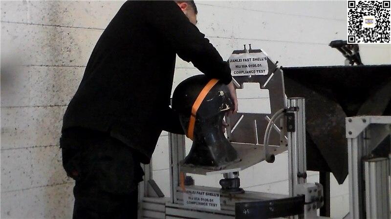 Sicherheit & Schutz Herrlich Schnelle Ballistischen Helm Nij Iiia 0106,01 Konform Test Video Arbeitsplatz Sicherheit Liefert