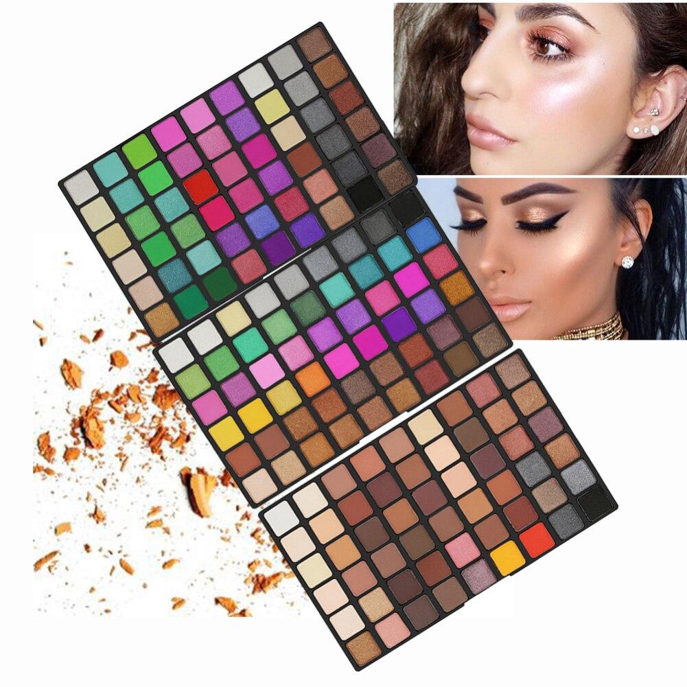 Professional 162 Colors Eyeshadow Palette Makeup Glitter Nude Matte Eye Shadow Cosmetics Paleta De Sombra Eyeshadow Pallete TSLM
