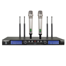 S500 Auto scan frequency wireless microphone 500m operation distance UHF receiver IR ID Dual