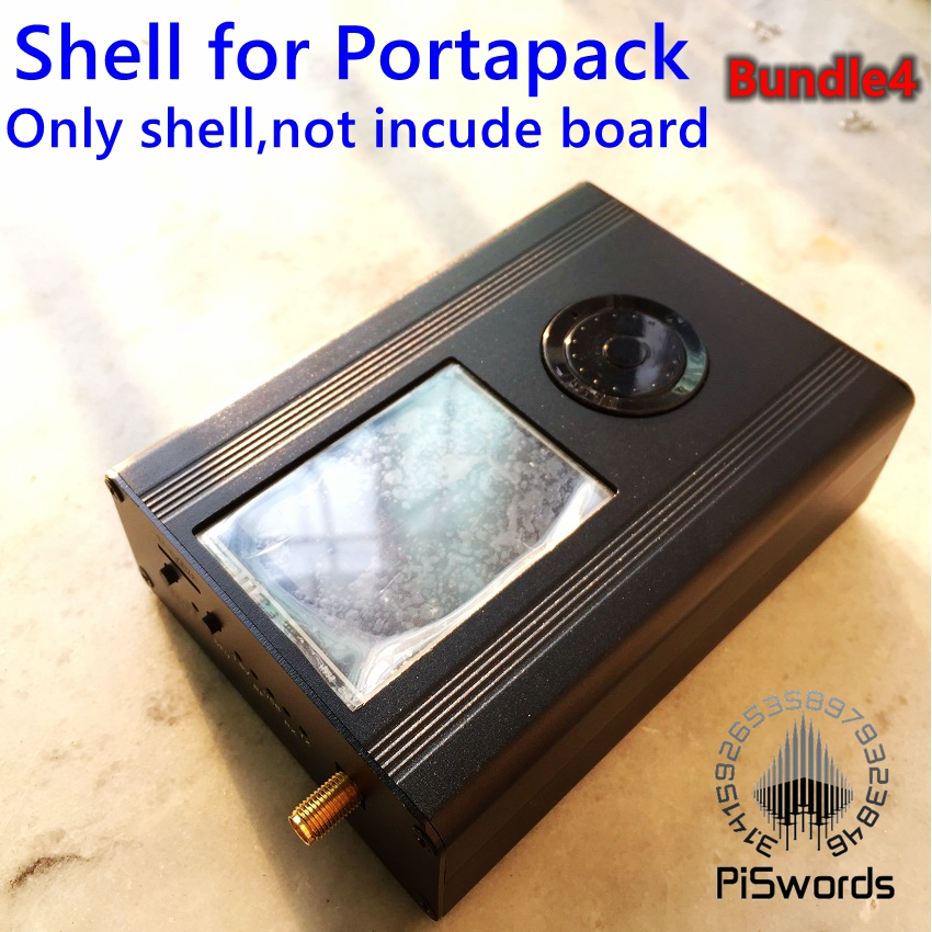 Aluminum Alloy Metal Shell For HackRF One SDR Board