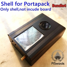 Aluminum alloy metal shell for HackRF One portapack SDR board