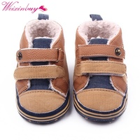 Fashion Winter Newborn Baby Boys Shoes Warm First  ...