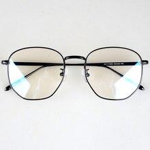 Di grandi dimensioni di Modo Poligono Montature Per Occhiali per le ragazze/blogger/stella