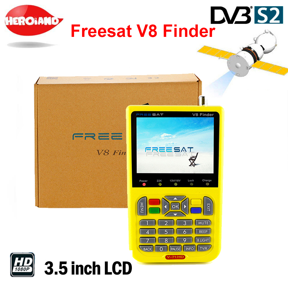 freesat v8 finder digital finder 3.5 inch LCD digital satFinder DVB-S2 MPEG-4 Free sat v8 satellite Finder satlink pk ws-6933 [genuine] freesat v8 finder hd dvb s2 s high definition satellite finder mpeg 2 mpeg 4 freesat satellite finder meter v 71 hd