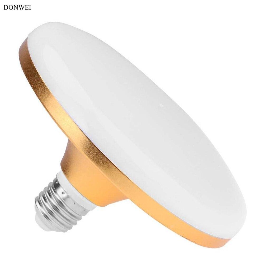 160-265v E27 Led Lamp Real Power 12w 17w 32w 37w 5730 Flat High Power Led Light Bulb 220v E27 Ufo Led Light For Home Lighting Lights & Lighting