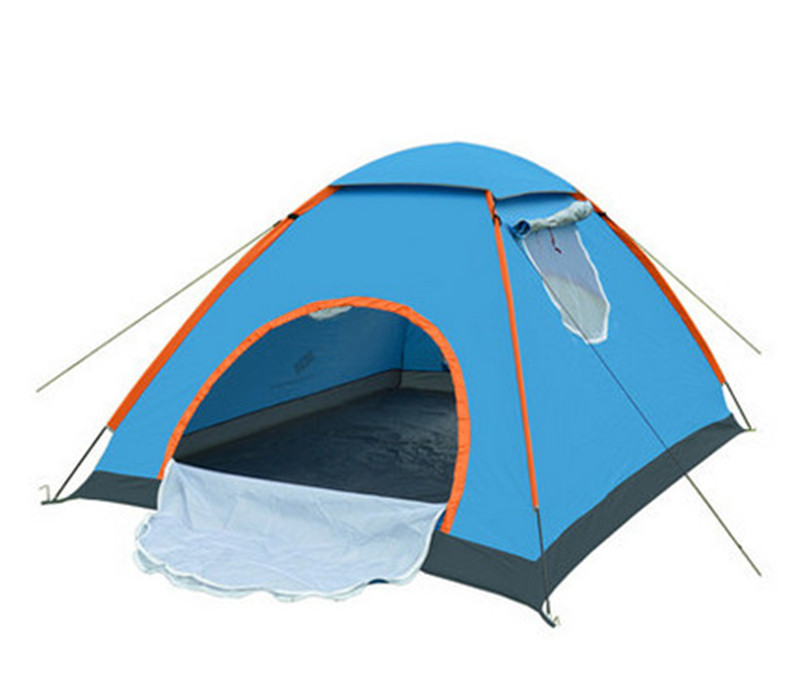 Single layer 5 peple super big tents Many people c&ing tents with window large outdoor tents-in Tents from Sports u0026 Entertainment on Aliexpress.com ...  sc 1 st  AliExpress.com & Single layer 5 peple super big tents Many people camping tents ...