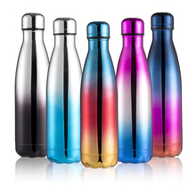 500ML Colorful Water Bottle Stainless Steel Thermos Bottle Drinkware Tour Outdoor Sport School Climbing Cola Water Bottles sandro ferrone майка