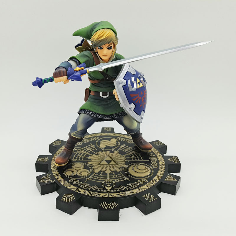 Anime The Legend of Zelda Link PVC Action Figures Collectible Model Toys 20cm NOT BOX