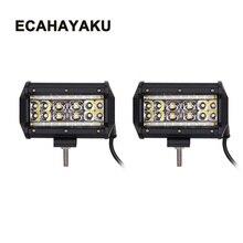 ECAHAYAKU 5 Inch 90W Led work Light Bars Combo Beam for Work Driving lights Off-road Boat Car Tractor Truck 4x4 SUV ATV 12V 24V цена и фото