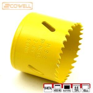 Image 5 - 30% off HSS Bi metal Adjustable Holesaw Cutter Wood Cutting Crown drill hole saw 16mm19m,20mm,22mm,65mm,68mm,70mm,73mm,76mm,83mm