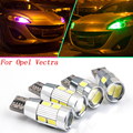 2 pcs seguro T10 W5W para Opel Vectra C Vivaro F3 Vivaro J7 LED fonte de luz carro estacionamento frente estilo