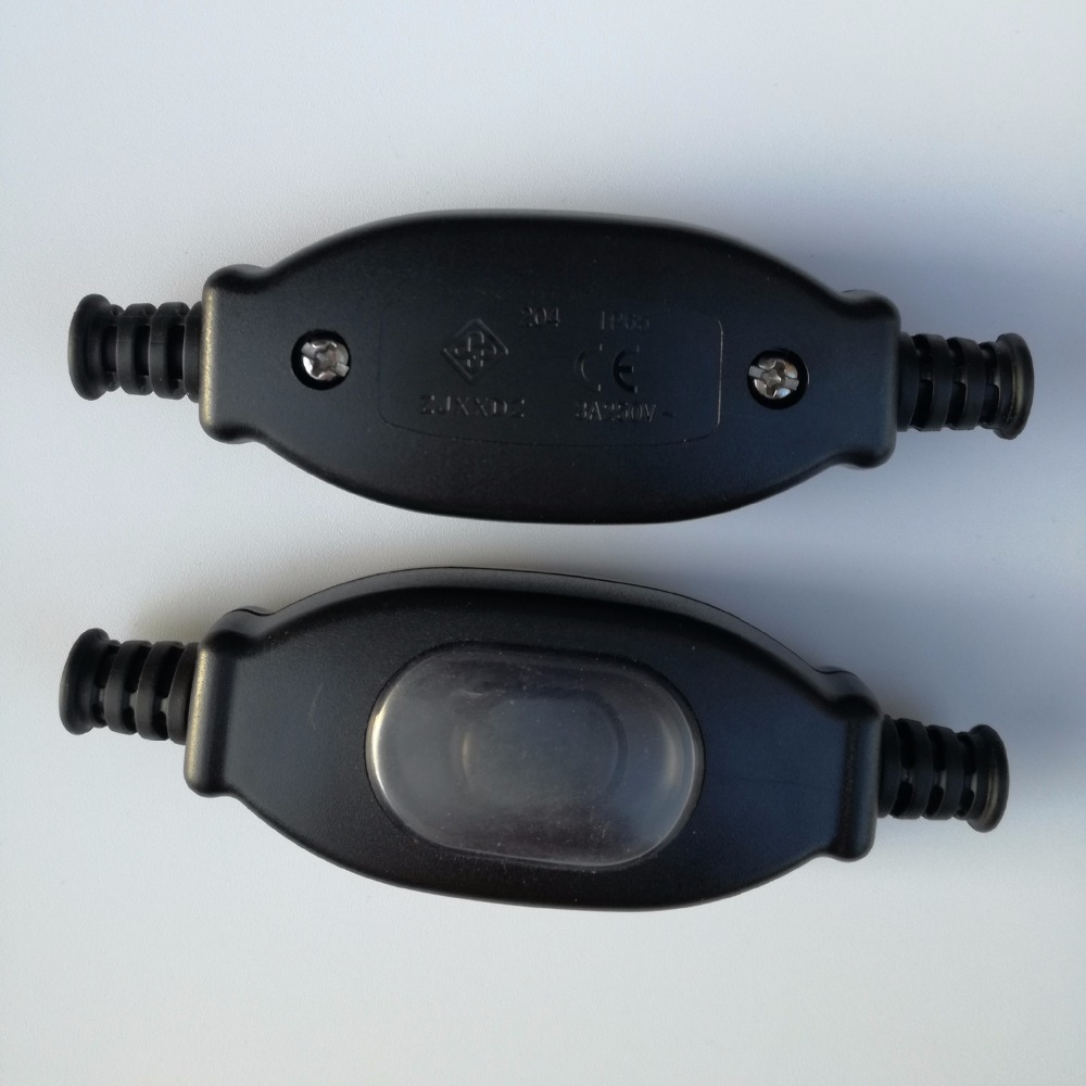 Inline Push Button : Pcs a v waterproof push button switch in line