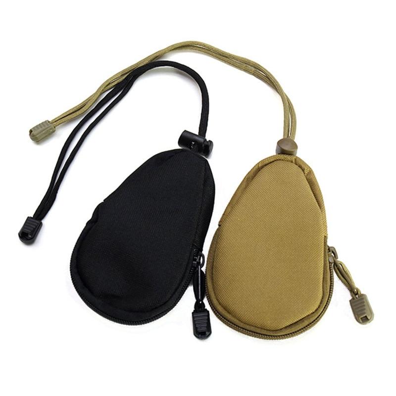 ddea940e1 مضغوط السفر مصغرة أكسفورد المشي التكتيكي الجيش عملة محفظة التخزين الرئيسية  حقيبة المفاتيح عملة محفظة محفظة الحقيبة