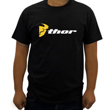 69ec71cc cotton men t-shirt short sleeve tops Thor MX Fitted Cotton-Poly T-