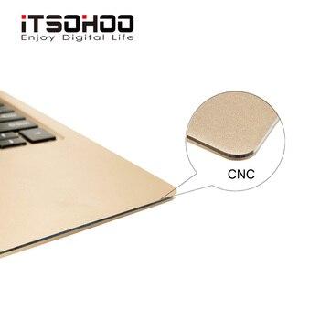 11.6 بوصة أجهزة الكمبيوتر المحمولة القابلة للتحويل 360 درجة شاشة تعمل باللمس دفتر ITSOHOO 8GB RAM المعادن الذهبي الكمبيوتر المحمول بصمة فتح الكمبيوتر 1
