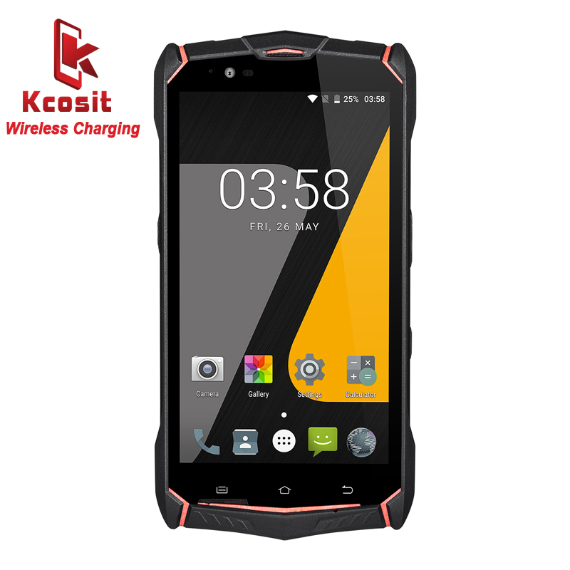 """Jesy J9 IP68 Rugged Android 7.0 Waterproof Phone 6150mAH SmartPhone 5.5"""" FHD 4G+64G Octa Core 16MP Wireless charger Gift 4G lte"""