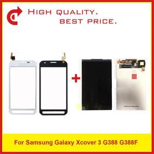 """Image 1 - Di alta Qualità 4.8 """"Per Samsung Galaxy Xcover 3 G388 G388F Display Lcd con Schermo di Tocco di Trasporto Libero + Inseguimento codice"""