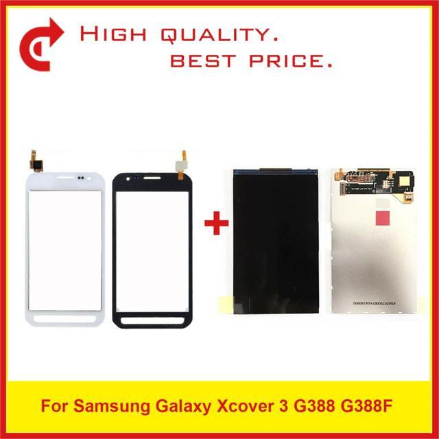 """Di alta Qualità 4.8 """"Per Samsung Galaxy Xcover 3 G388 G388F Display Lcd con Schermo di Tocco di Trasporto Libero + Inseguimento codice"""