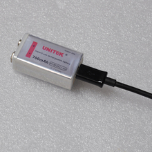 UNITEK 6F22 USB 9V rechargeable lithium battery 700mah wireless microphone KTV multimeter dedicated 9V battery supply
