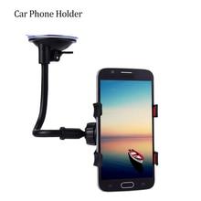 Universal Car Phone Holder Car Window Windshield Mount Holder 360 Rotation Long Arm Windshier GPS Mobile Phone Holdersld Bracket