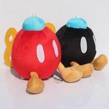 5inch Super Mario Bros Bomb Plush Stuffed Dolls 2colors Yoshi Plush font b Toys b font