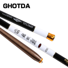 GHOTDA 3.6M 4.5M 5.4M 6.3M 7.2M Stream Rod Super Hard Super Light Fishing Rod Carbon Fiber Olta for Henglesport