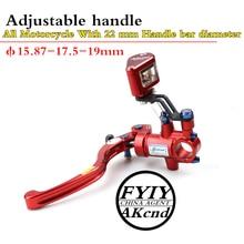 akcnd 19mm Motorcycle Brake Clutch Master Cylinder Hydraulic Pump handle For nmax bws smax aerox R6 Fz6 Gsxr600 Zx-6r Z800