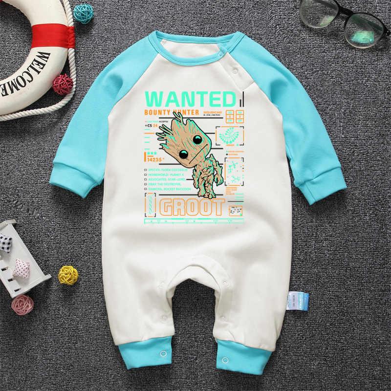 Коллекция 2017 года, одежда для малышей с длинными рукавами цельнокроеные комбинезоны в стиле реглан с милым рисунком для новорожденных мальчиков и девочек, хлопковые комбинезоны