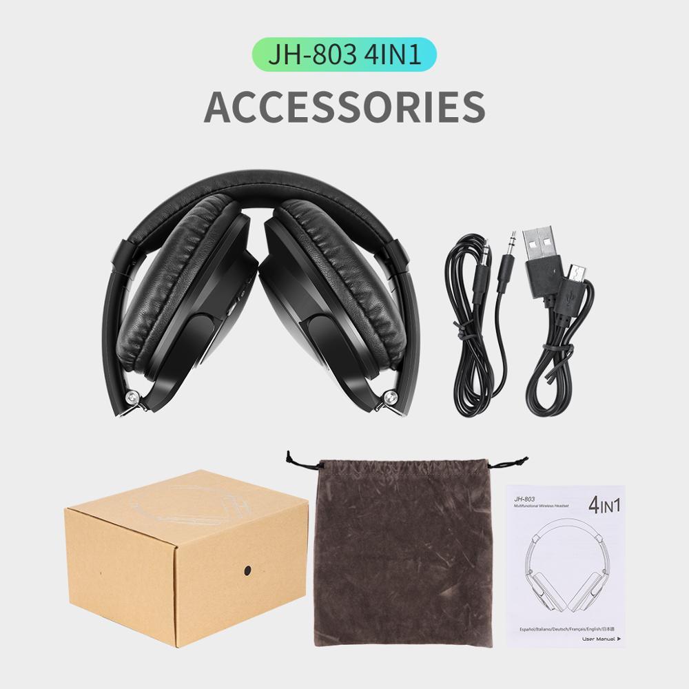 FM radio Headphone Wireless