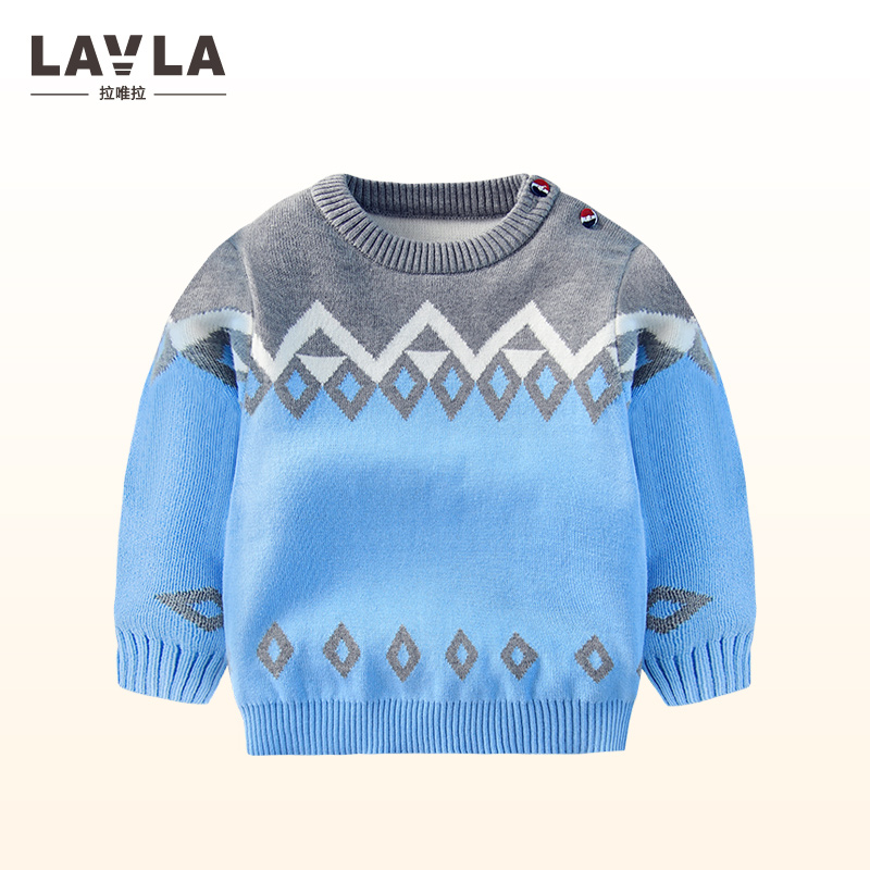 b11087d88deb New Boy Sweaters Pattern Cotton Top Warm Sweater For Boys Knitting ...