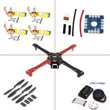Kit de rack quadro f450 quadcopter apm2.6 e 6 m gps 2212 hp do motor 1000kv 30a 1045 prop ~ f4p01
