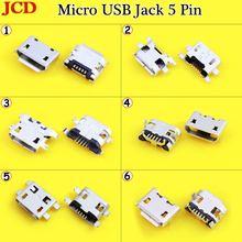 Гнездовой разъем jcd micro usb 5pin b типа «мама» для женского
